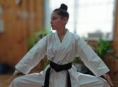 profesora Karate Gimnasio Tomas Sanchez