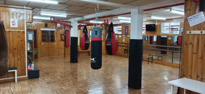 Sala boxeo lucero Tomas Sanchez